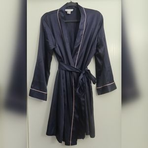 Morgan Taylor Intimates Satin Wrap Robe
